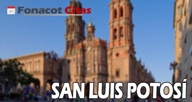 telefono fonacot San Luis Potosí