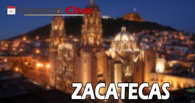 telefono fonacot Zacatecas