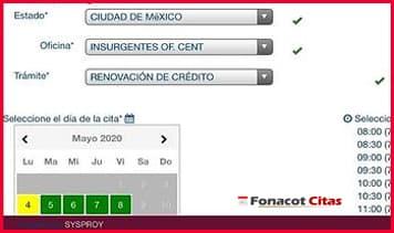 como renovar credito fonacot en linea